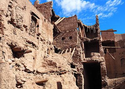 ruines dans la casbah d'Amzrou