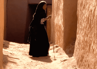 une habitante d'Amzrou