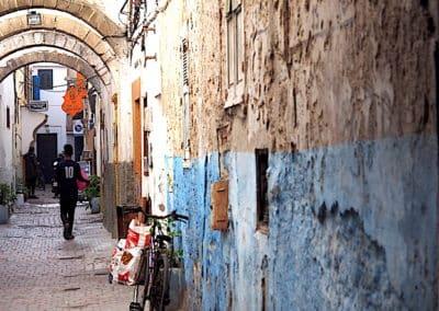 ruelle dans la médina de Essaouira