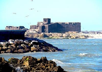 une partie des fortifications de Essaouira