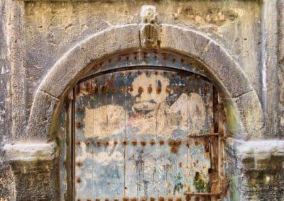 une porte ancienne à Essaouira