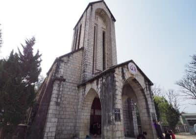 église de Sapa construite en 1926