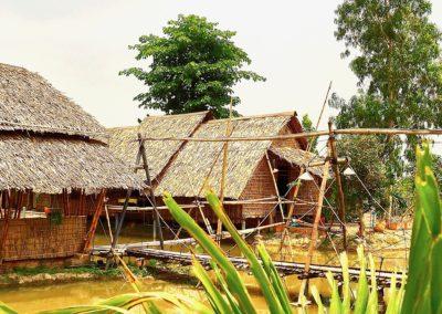 LE village de Bambou à Sadec