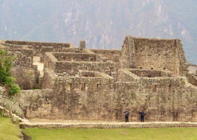 vestiges du Machu Picchu