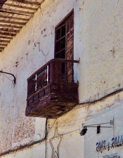 balcon de l'époque coloniale à Cuzco