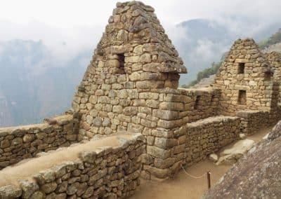 construction inca au Machu Picchu