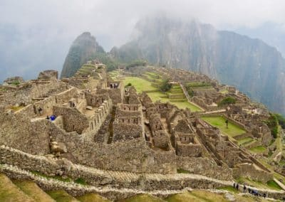 habitations incas au Machu Picchu