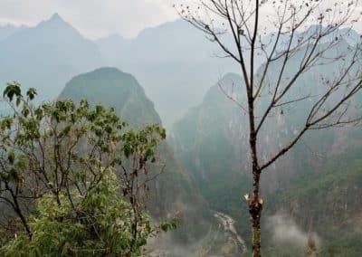 la montagne du Machu Picchu