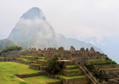 les terrasses du Machu Picchu