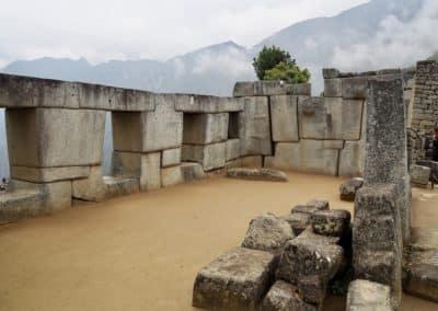 blocs de pierre inca au Machu Picchu