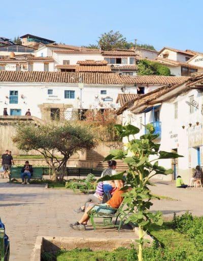 une place à Cuzco (Saint Blas)