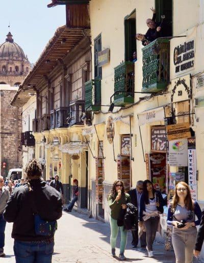 une rue de Cuzco