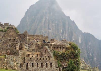 ruines incas au Machu Picchu
