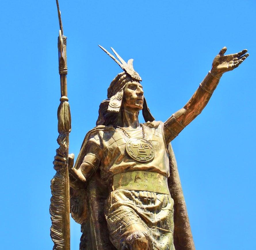 Statue de l'Inca
