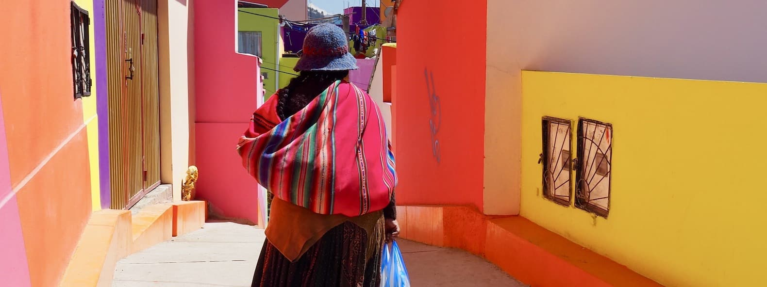 femme indigène à La Paz