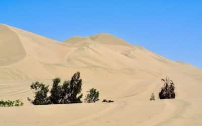 Ica et les dunes de sable de huacachina