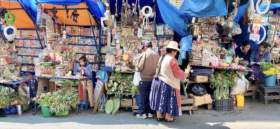 le marché des sorcières