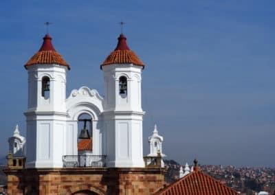 une église de Sucre
