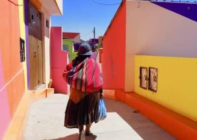 Une femme indigène à Chullauma