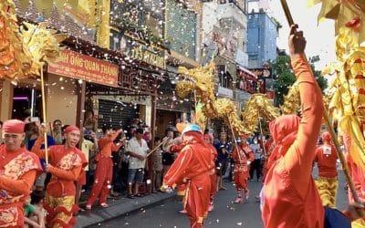 Le nouvel an vietnamien à Ho Chi Minh (la fête du Têt)