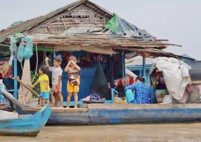 les enfants du Tonlé Sap