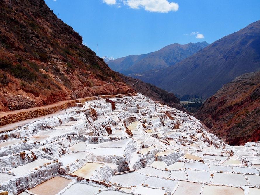 les salines de maras au Pérou