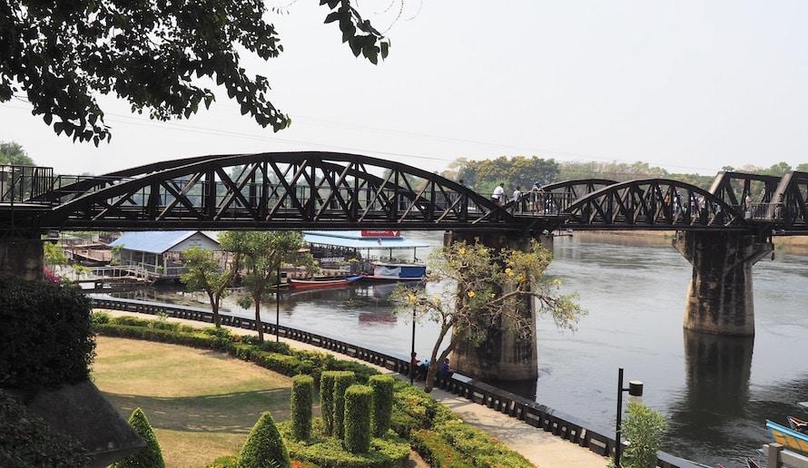 le pont de la rivière kway