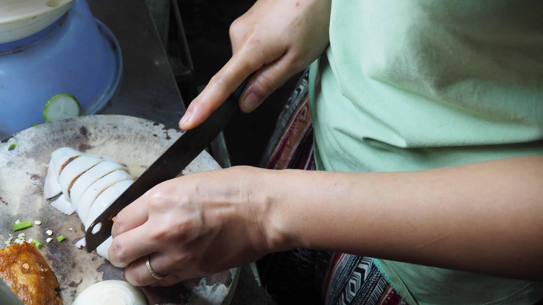 sèche cuisinée à Hoi An