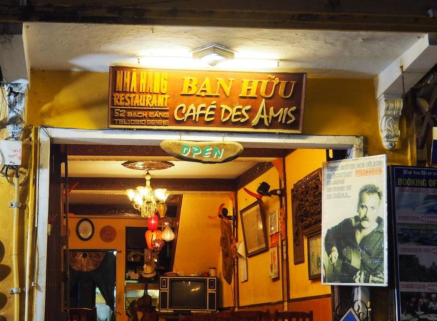 café français à Hoi An