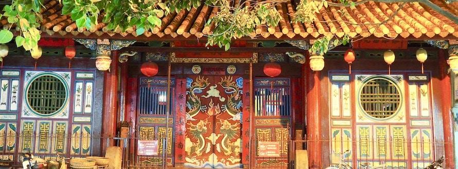 façade à Hoi An