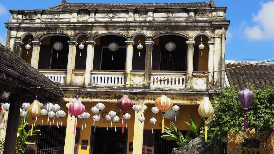 maison chinoise à Hoi An
