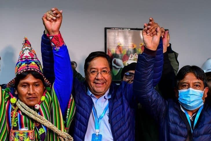 Luis Arce président de Bolivie