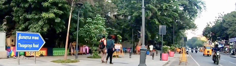 T-Nagar quartier de Chennaï