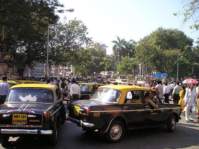 taxis en Inde