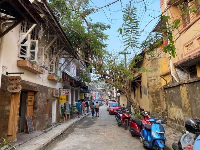 Une rue dans Fort Kochi