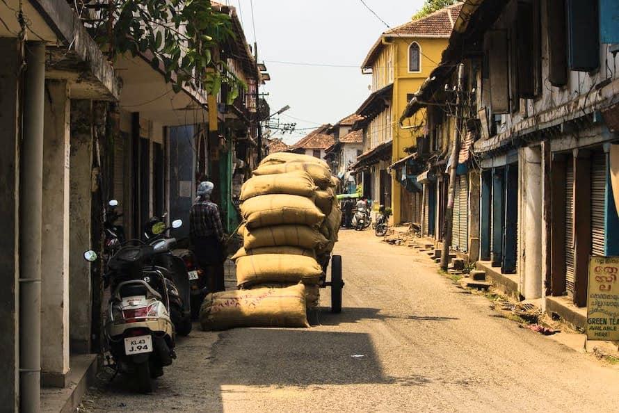 balade dans les rues de Kochi