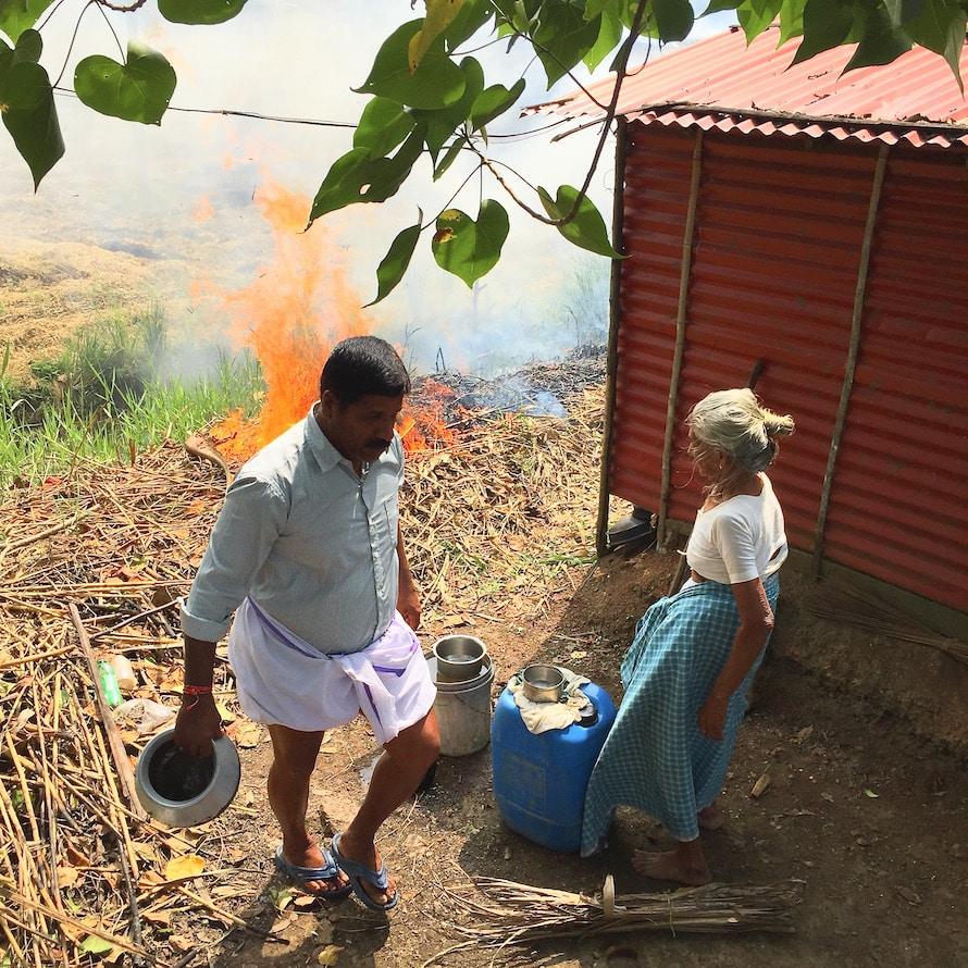 Das gens dans les backwaters