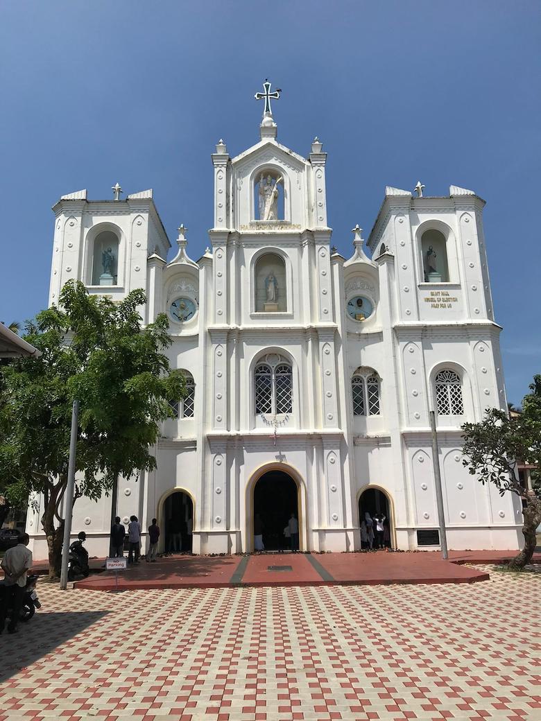 église saint François à Kochi