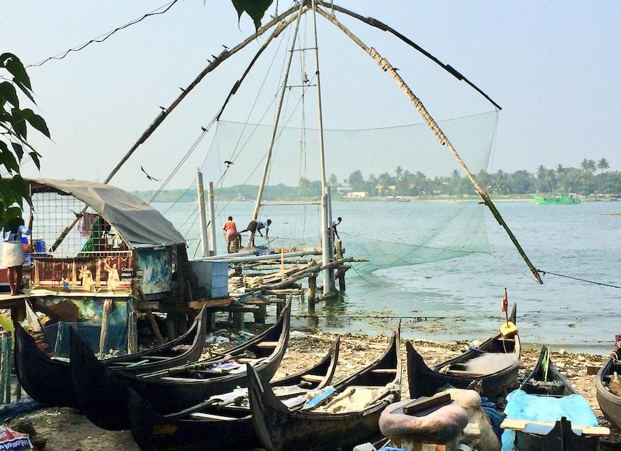 filet de pêche chinois