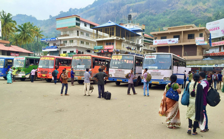 gare routière de Munnar
