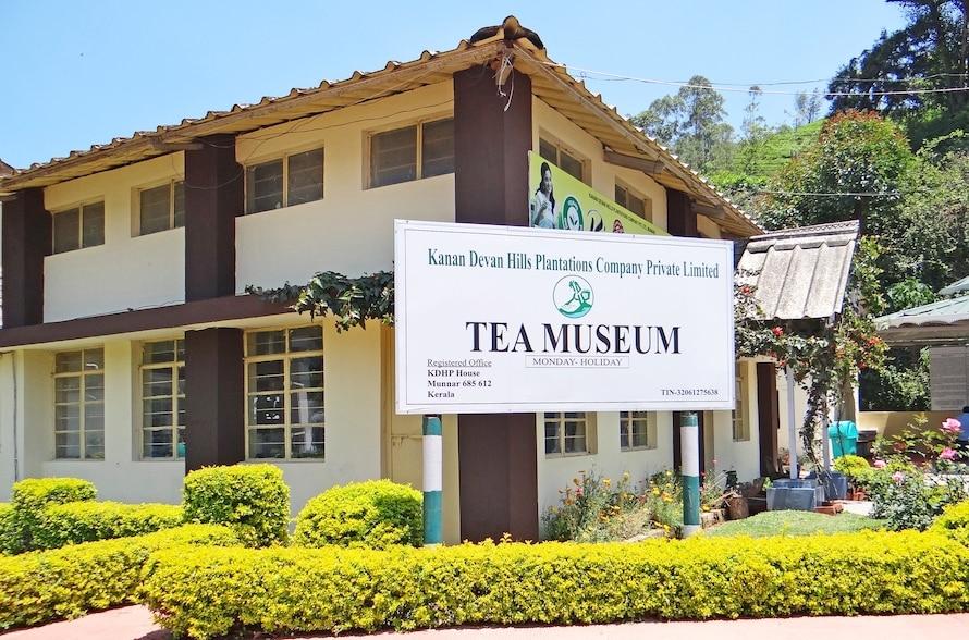 le musée du thé à Munnar
