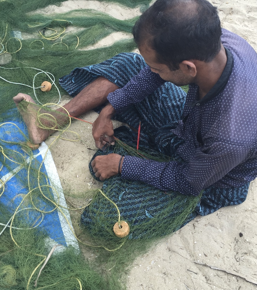 pêcheur à marari
