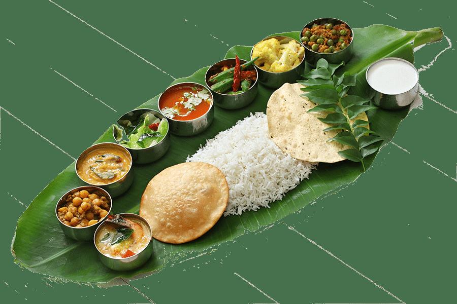thali d'inde du sud