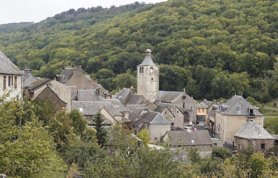 village de l'Aubrac